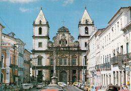 1 AK Brasilien * Historische Zentrum Von Salvador De Bahia Mit Der Kirche São Francisco Ist Seit 1985 UNESCO Welterbe * - Salvador De Bahia