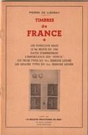 Timbres De France - Pierre De Lizeray - 1956 - Collection Complète 8 Tomes - Filatelia E Historia De Correos