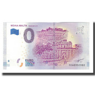 Malte, Billet Touristique - 0 Euro, Malta - L-Imdina - The Silent City - Mdina - Jetons & Médailles