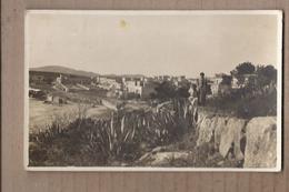CPA PHOTO ESPAGNE - PALMA DE MALLORCA TB Vue Générale Village En Bord De Mer En CP Photographique Animation - Palma De Mallorca