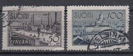 FINLAND - Michel - 1942 - Nr 259/60 - Gest/Obl/Us - Finland