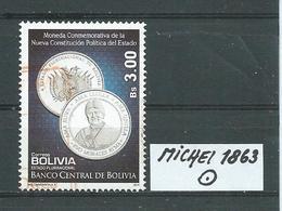BOLIVIEN MICHEL 1863 Gestempelt Siehe Scan - Bolivie