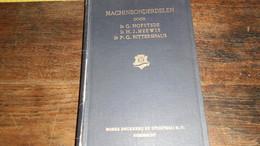 MACHINEONDERDELEN _ DIK BOEK MET  AFBEELDINGEN  .... _ ANNO 1951_____ BOX : L - Cultura