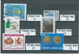 BOLIVIEN LOT Gestempelt Siehe Scan - Bolivie