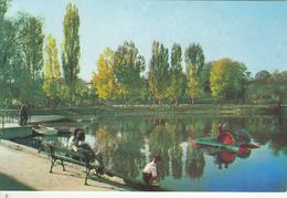 CAMPINA- THE PARK, LAKE, PADDLE BOAT - Romania