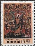 BOLIVIA 1972 Bolivian Paintings - 50c - Coronation Of The Virgin (G. M. Berrio) FU - Bolivie