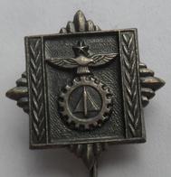 JNA, VAZD. TEHNIČKA AKADEMIJA   MILITARY TECHNICAL AVIATION ACADEMY  JUGOSLAVENSKA ARMIJA YUGOSLAV ARMY PINS BADGES S - Militares