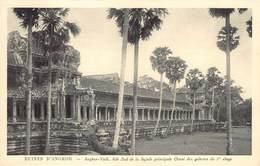 Cambodja      Ruines  Angkor Vath Aile Sud De La Façade Principale      M 3154 - Cambodia