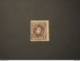 MARRUECOS -  Varietà 1903/9 RE  4 P. - NUOVO(+) - Spanisch-Marokko