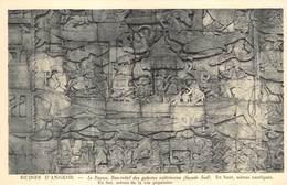 Cambodja      Ruines  Angkor Vath   Le Bayon, Bas Relief Des Galeries      M 3162 - Cambodia