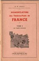 Nomenclature Des Timbres-poste De France - Dr R. Joany - 1965-1972 - Collection Complète  15 Tomes - Filatelia E Historia De Correos