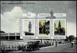 Mooi Nederland Steden T/m Heden. Enschede (a) MNH - Blocks & Sheetlets