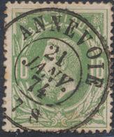 """émission 1869 - N°30 Obl Double Cercle """"Annevoie"""". Superbe / Collection Spécialisée - 1869-1883 Leopold II."""