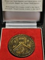Luxembourg Médaille, Siegel Der Stadt Hamm Aus Dem Jahre 1335 - Jetons & Médailles