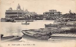 Egypt Egypte Port Said  Canal Docks  مصر, Miṣr   M 3168 - Port Said