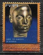 DOMINIQUE  N° 2637  * *  Millennium Tete De Bronze D Ife Nigeria - Archaeology