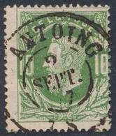 "émission 1869 - N°30 Obl Double Cercle ""Antoing"" / Collection Spécialisée - 1869-1883 Leopold II."