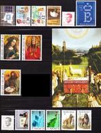 1986** Zonder Scharnier.Volledige Jaargang Zonder Boekje B18. (41 Zegels + 1 Blok) - Full Years