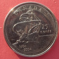 Canada 25 Cents 2004 - Canada