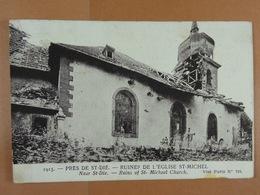 Près De St-Dié Ruines De L'Eglise St-Michel - Saint Die