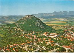 DEVA- FORTRESS HILL, RUINS, PARTIAL TOWN PANORAMA - Romania