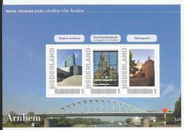 Mooi Nederland Steden T/m Heden. Arnhem (b) MNH - Blocks & Sheetlets
