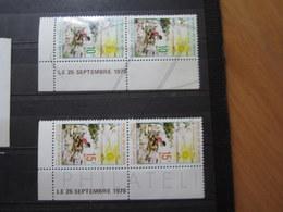 VEND BEAUX TIMBRES DU CAMEROUN N° 627 + 628 EN PAIRES + BDF + CD , XX !!! - Cameroon (1960-...)