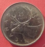 Canada 25 Cents 1986 - Canada
