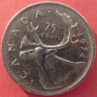 Canada 25 Cents 1974 - Canada
