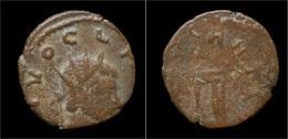 Barbaric Radiates Barbaric Antoninianus Of Claudius II - 5. Der Soldatenkaiser (die Militärkrise) (235 / 284)