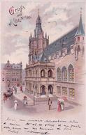 Allemagne, Gruss Aus  Köln, Rathaus, Carte Litho Ajourée Avec Effet De Lumière (2.9.1900) - Contraluz