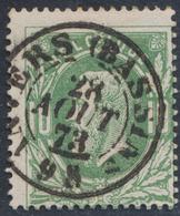 """émission 1869 - N°30 Obl Double Cercle """"Anvers (Bassin"""" (Dcb) / Collection Spécialisée - 1869-1883 Leopold II."""