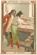 CHROMOS - CHOCOLAT POULAIN - LE VIOLON - Old Paper