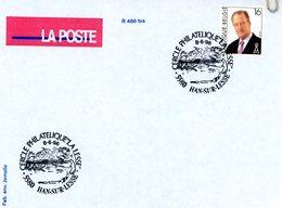 2639 (Albert II à Lunettes 16F) Avec Cachet De Prévente (voir 2 Scans & Descr) - Postmark Collection