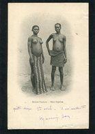 CPA - SOUDAN FRANCAIS - Deux Captives - Femmes Seins Nus  (dos Non Divisé) - Sudán