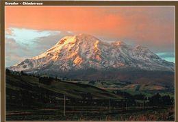 1 AK Ecuador * Der Inaktive Vulkan Chimborazo - Mit 6310 M Der Höchste Berg In Ecuador * - Equateur
