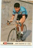 Felice GIMONDI . 2 Scans. Cyclisme. Salvarani - Cycling
