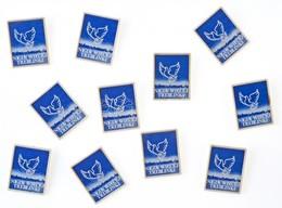 """Lengyelország ~1970-1980. """"NIGDY WIECEJ TREBLINKI"""" Koncentrációs Tábor Műanyag Emlékjelvénye (11x) T:1- Poland ~1970-198 - Coins & Banknotes"""