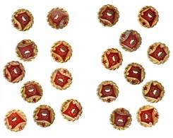 """20db-os """"Szocialista Brigád"""" Jelvény Tétel, Aranyozott Koszorú (27mm) T:1-,2 - Coins & Banknotes"""