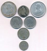"""Vegyes: Ausztria 1832. 20kr Ag """"I. Ferenc"""" Lyukasztott + Magyarország 1943. 5P Al """"Horthy"""" (2x) + Magyarország 1967. 5Ft - Coins & Banknotes"""