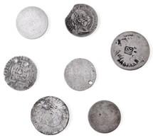 """7db-os Rossz állapotú Ezüstérme Tétel, Közte """"1871. 10kr Ag T:3-,4 - Coins & Banknotes"""