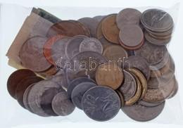 77db-os Vegyes érme-, Zseton- és Bankjegytétel, Javarészt A 20. Századból T:2,2- - Coins & Banknotes