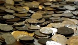 Vegyes Magyar és Külföldi Fémpénz Tétel 1Kg-os Súlyban T:vegyes - Coins & Banknotes