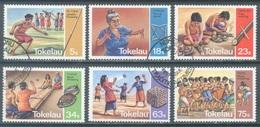 TOKELAU - USED/OBLIT. - 1983  - VARIOUS GAMES - Yv 97-102 -  Lot 21658 - Tokelau