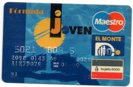 Bank Spain Credit Card EL MONTE JOVEN Visa - Electron - Master Card - Tarjeta De Credito - Tarjetas De Crédito (caducidad Min 10 Años)