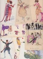 Lot 2384 De 10 CPA Illustrateur Xavier SAGER Déstockage Pour Revendeurs Ou Collectionneurs - Postales