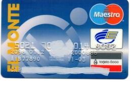 Bank Spain Credit Card EL MONTE Visa - Electron - Master Card - Tarjeta De Credito - Tarjetas De Crédito (caducidad Min 10 Años)