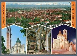 °°° Cartolina - Santuario Di M. Berico Vedute Viaggiata °°° - Vicenza
