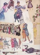 Lot 2385 De 10 CPA Illustrateur Xavier SAGER Déstockage Pour Revendeurs Ou Collectionneurs - Postales