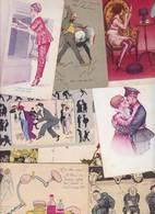 Lot 2386 De 10 CPA Illustrateur Xavier SAGER Déstockage Pour Revendeurs Ou Collectionneurs - Postales